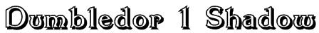 Dumbledor 1 Shadow Font