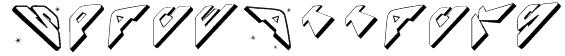 SpaceAttacks Font