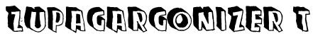 Zupagargonizer T Font