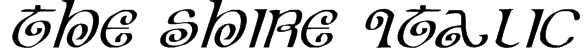 The Shire Italic Font