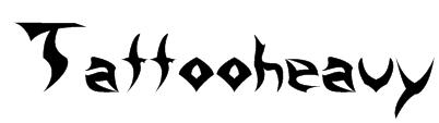 Tattooheavy Font