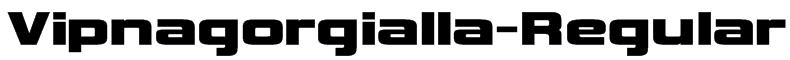 Vipnagorgialla-Regular Font