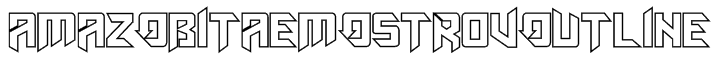 AmazObitaemOstrovOutline Font