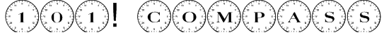101! Compass Font
