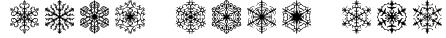 Faux Snow BRK Font