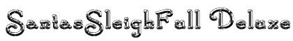 SantasSleighFull Deluxe Font