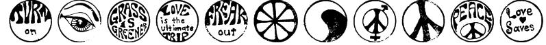 HippyStampA Font