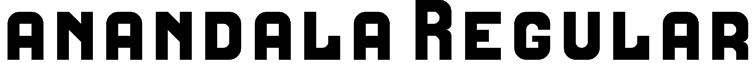 anandala Regular Font