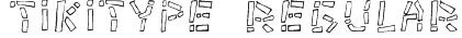 Tikitype Regular Font