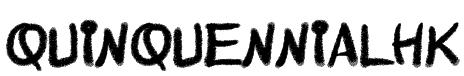 QuinquennialHK  Font