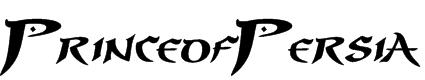 PrinceofPersia Font