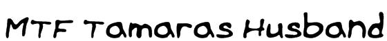 MTF Tamaras Husband Font