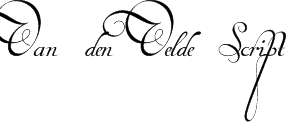 Van den Velde Script Font