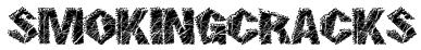 SmokingCracks Font