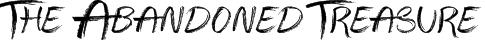 The Abandoned Treasure Font