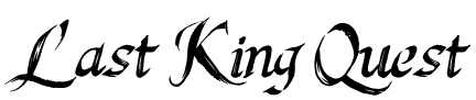 Last King Quest Font
