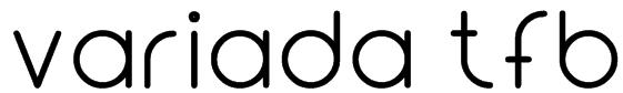 Variada tfb Font