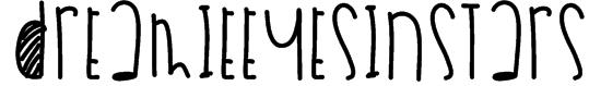 DreamieEyesInStars Font