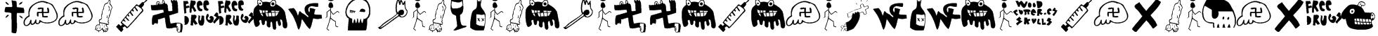 Woodcutter El d?a del juicio (rare Icons Font) Font