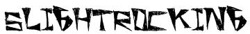 SlightRocking Font