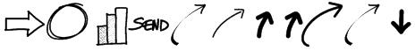 PWNewArrows Font