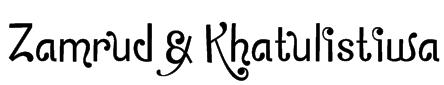 Zamrud & Khatulistiwa Font