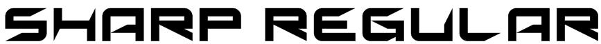Sharp Regular Font
