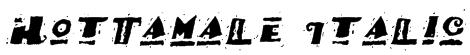 HotTamale Italic Font