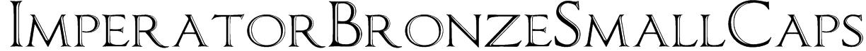 ImperatorBronzeSmallCaps Font