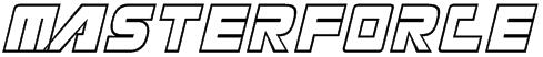 Masterforce Font