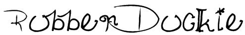 RubberDuckie Font