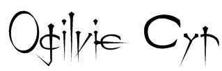 Ogilvie Cyr Font