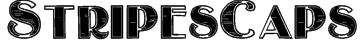 StripesCaps Font