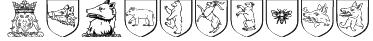Heraldics Font