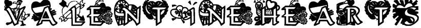 VALENTINEHEARTS Font