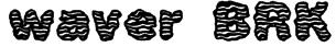 waver BRK Font