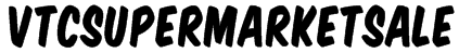 VTCSuperMarketSale Font