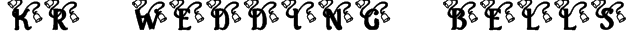 KR Wedding Bells Font
