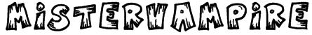 MisterVampire Font