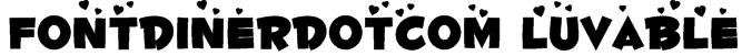 Fontdinerdotcom Luvable Font