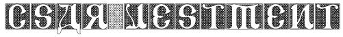 CSAR VESTMENT Font