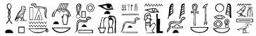 Greywolf Glyphs Font