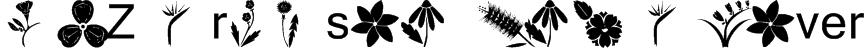 AEZ crimson and clover Font
