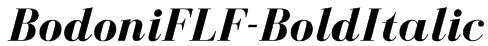 BodoniFLF-BoldItalic Font