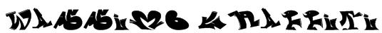 wassimo graffiti Font
