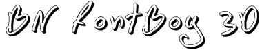 BN FontBoy 3D Font