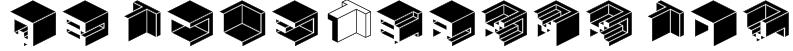 Qbicle1BRKMKinv Font