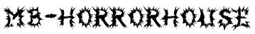 MB-HorrorHouse Font