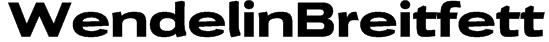 WendelinBreitfett Font
