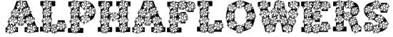 AlphaFlowers Font